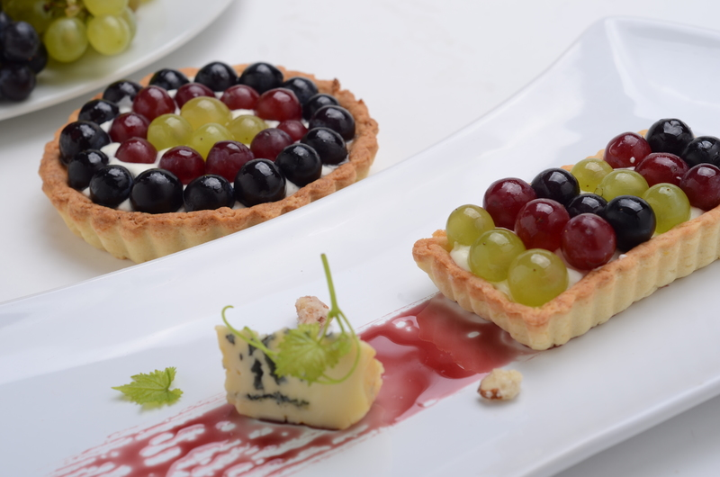 COLD TART OF GRAPES
