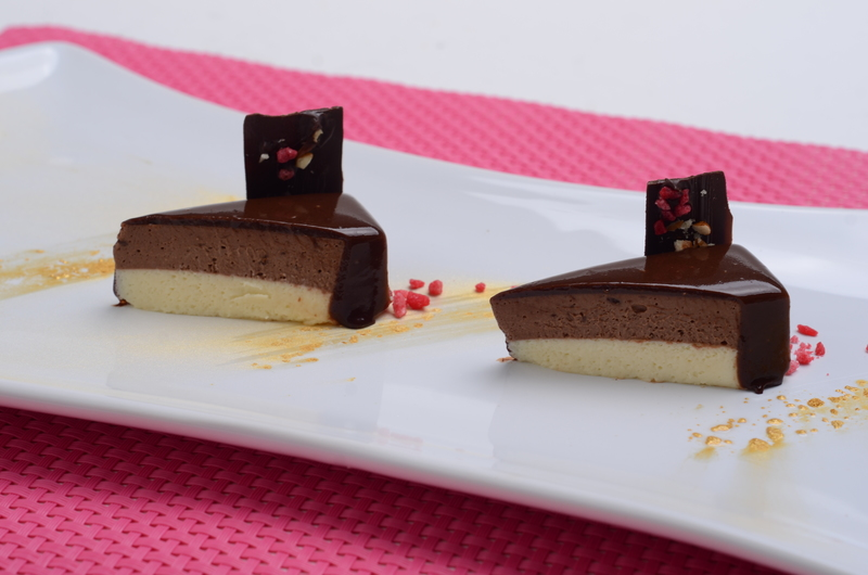 MOUSSE OF TWO CHOCOLATES